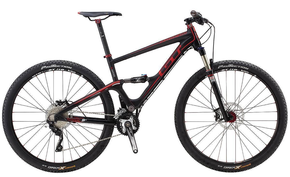 2014 GT ZASKAR 100 9R EXPERT, BLACK/RED