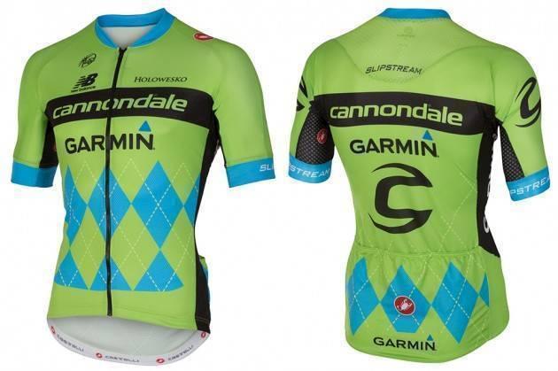 15 C-DALE/GARMIN DRES TOUR DE FRANCE KRÁTKÝ RUKÁV (4205001) S
