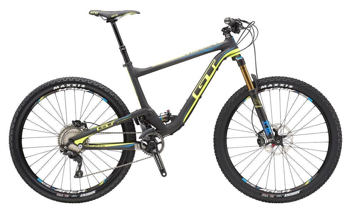 GT HELION CARBON TEAM 2016 RAW/NEON YELLOW