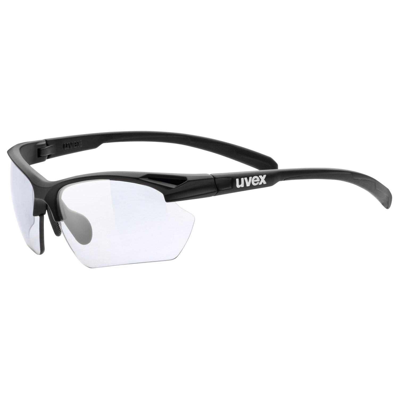 brýle UVEX SPORTSTYLE 802 SMALL VARIO, BLACK MAT (8301)