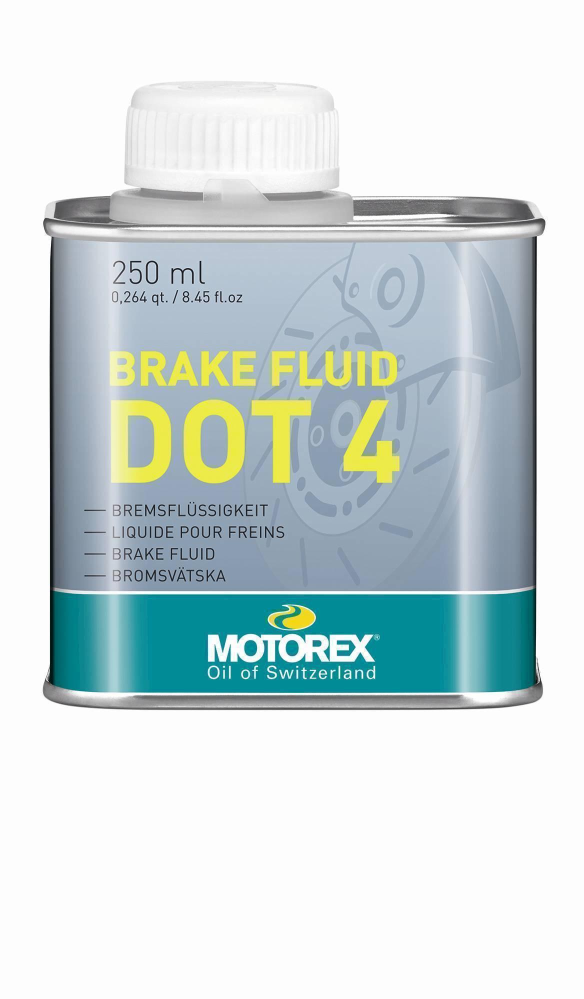 Brzdová kapalina MOTOREX BRAKE FLUID DOT 4, 250 ml