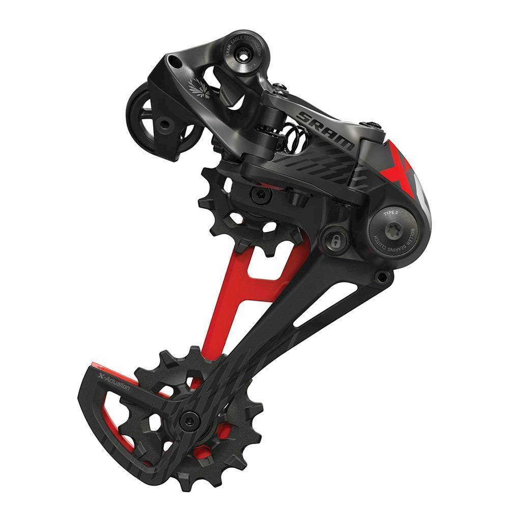 Přehazovačka SRAM AM RD X01 EAGLE TYPE 2.1 12 SPEED RED
