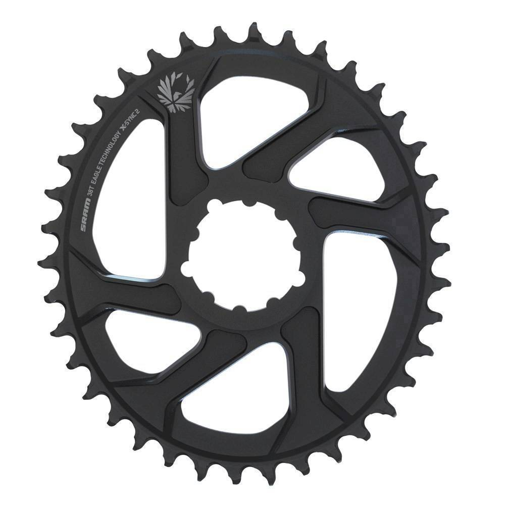 SRAM CR X-SYNC EAGLE OVAL 34T DM 3 OFF B BLK