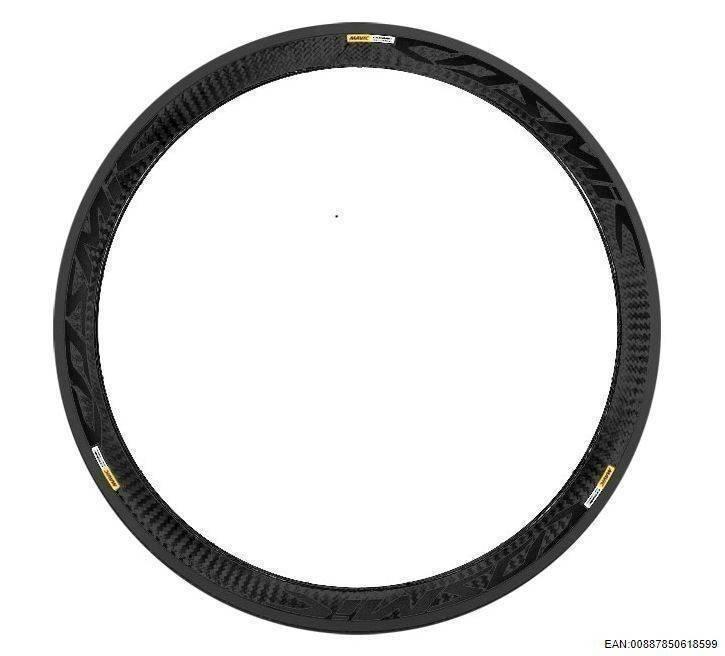 MAVIC KIT FRT COSMIC CARBONE SLE BLACK REF STICKER (V2400210) Množ. Uni