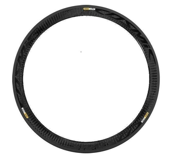 MAVIC KIT REAR COSMIC CARBONE SLE BLACK REF STICKER (V2400313) Množ. Uni