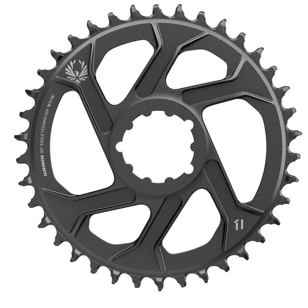 SRAM CR X-SYNC SL EAGLE 38T DM 3 OFFSET B BLK