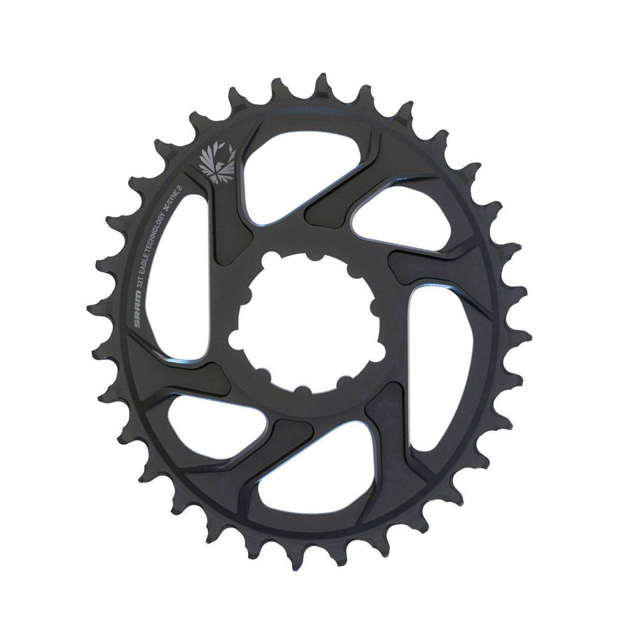 SRAM CR X-SYNC EAGLE OVAL 32T DM 3 OFF B BLK