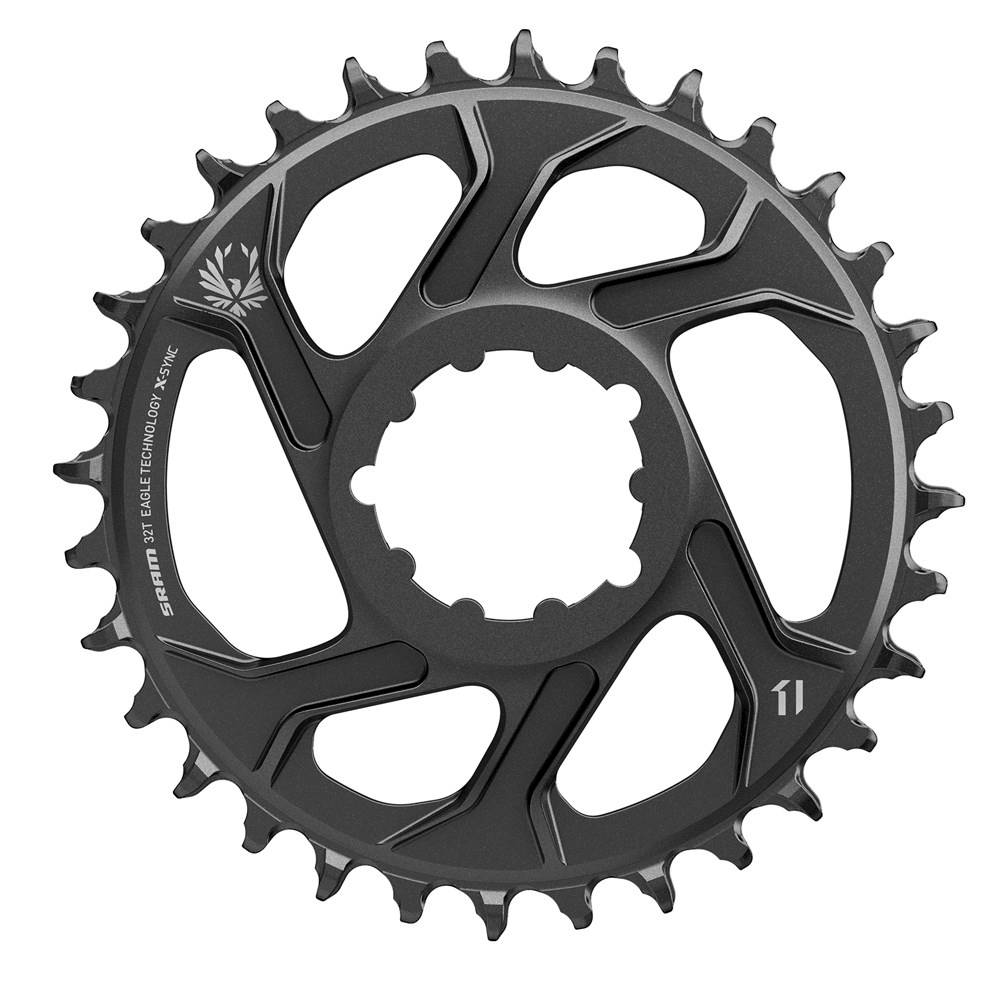 SRAM CR X-SYNC SL EAGLE 32T DM 3 OFFSET B BLK