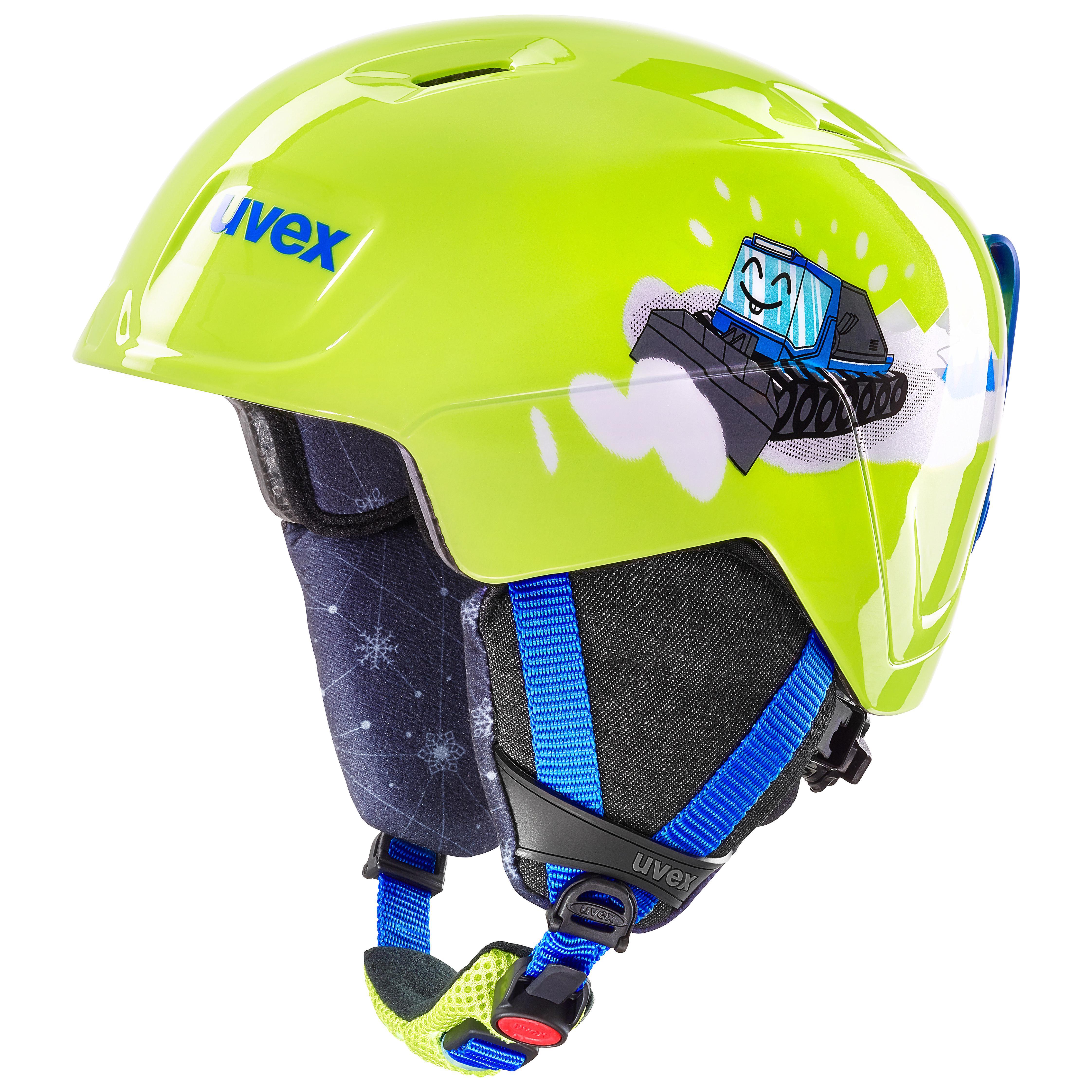 helma UVEX MANIC, lime caterpillar (S566226610*) 51-55