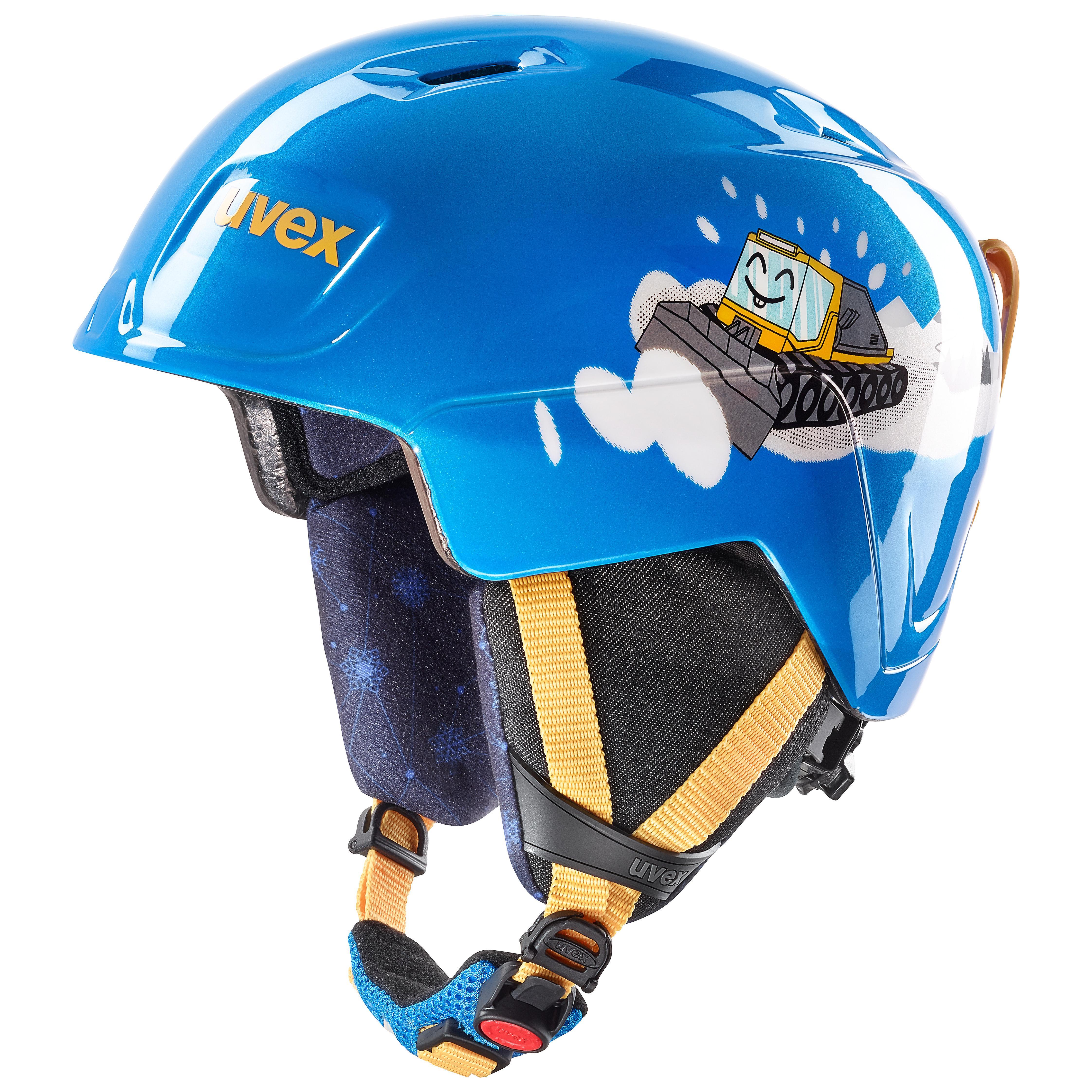 helma UVEX MANIC, blue caterpillar (S566226410*) 46-51