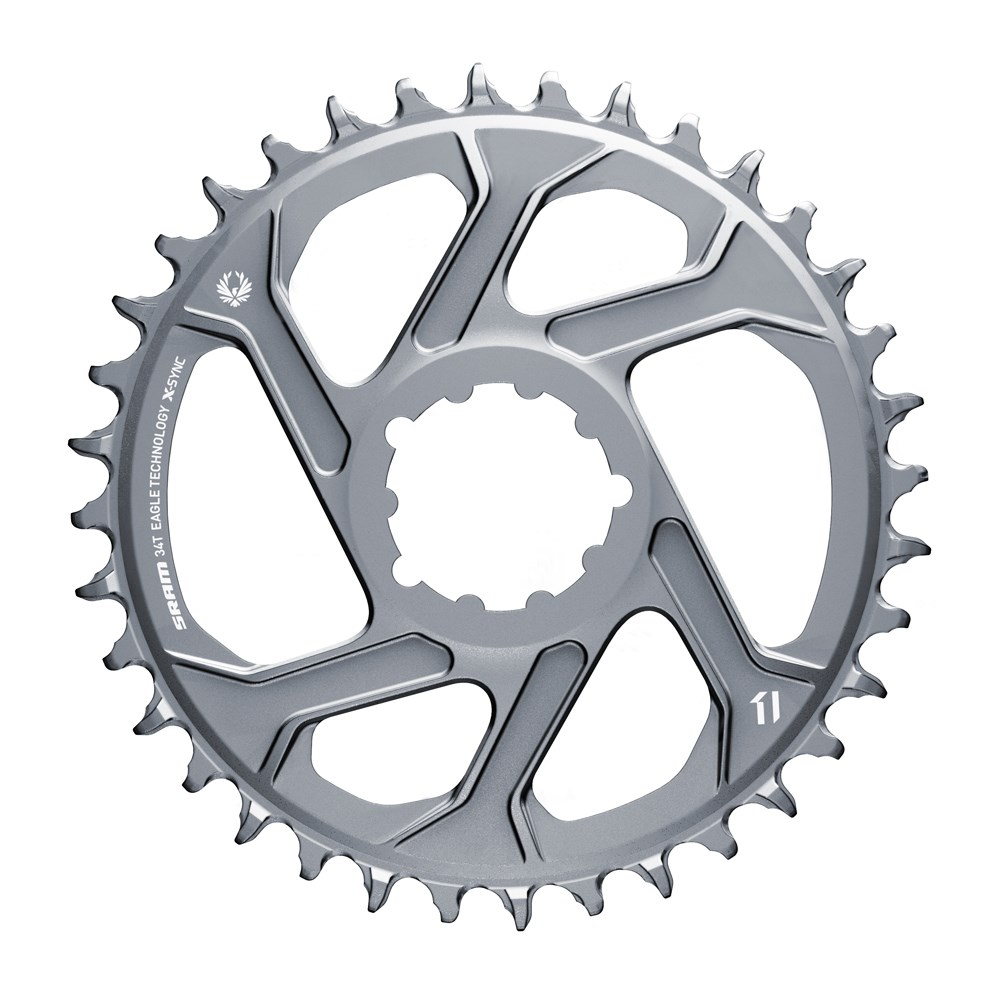 SRAM CR X-SYNC EAGLE 34T DM 6 OFFSET PLR