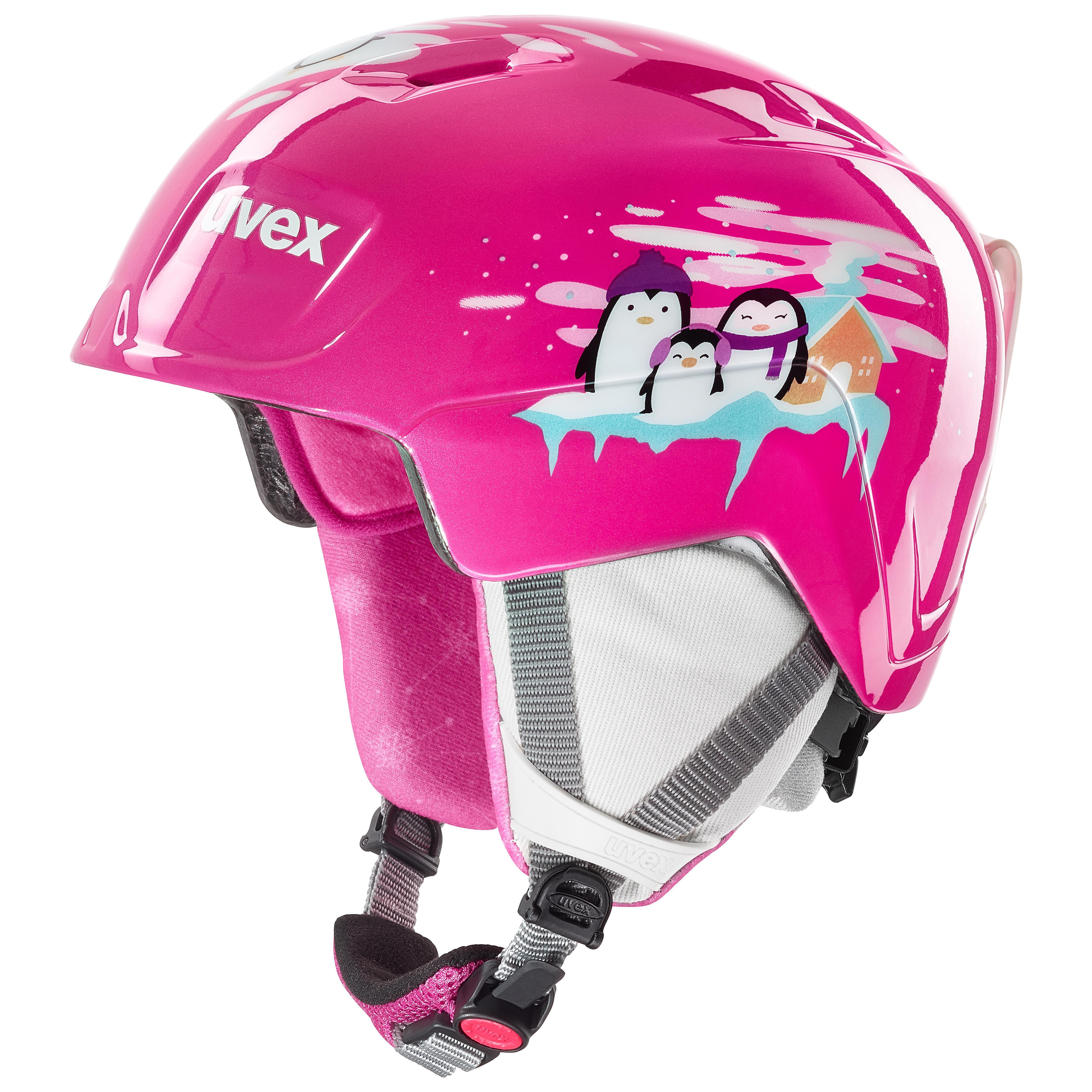 helma UVEX MANIC, pink penguin (S566226910*) 46-51