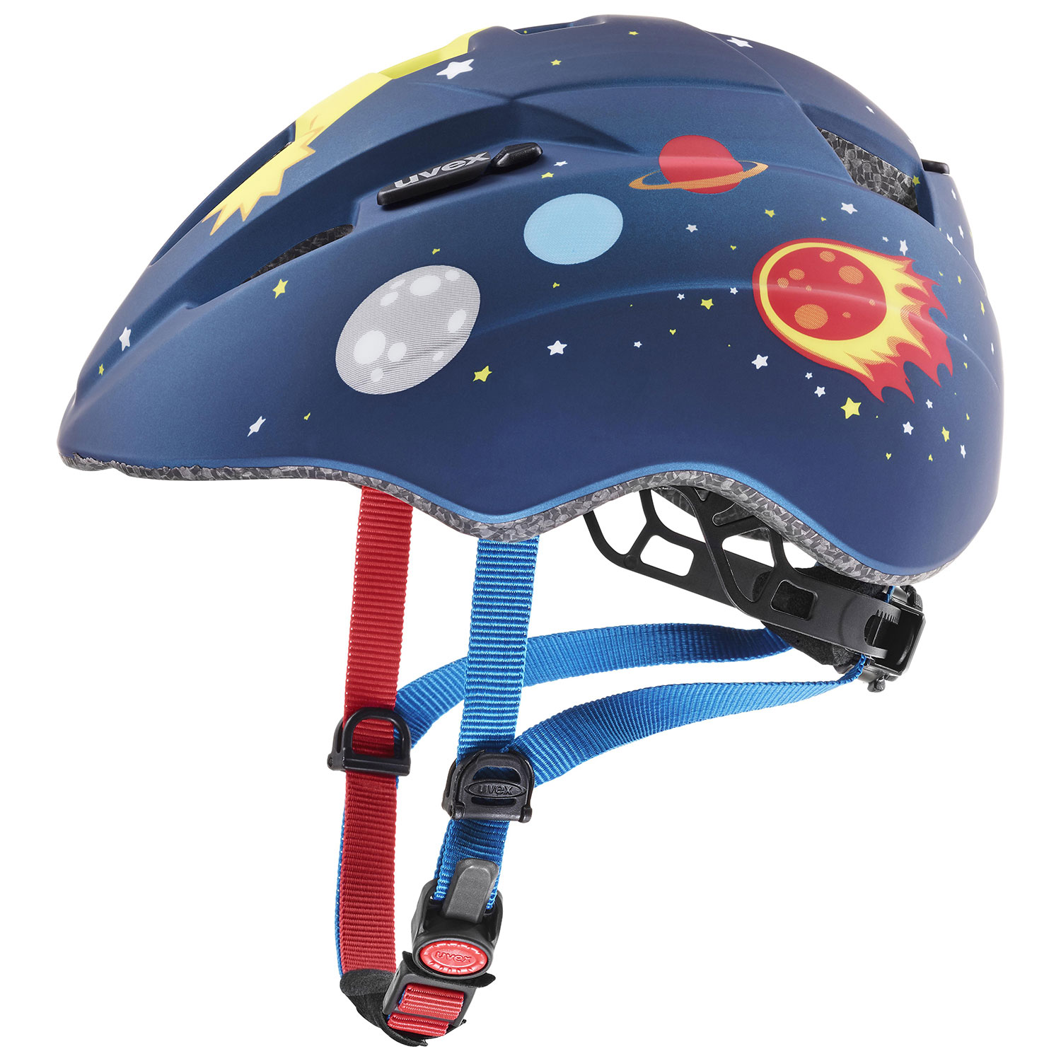 2021 UVEX HELMA KID 2 CC, DARK BLUE ROCKET MAT (46-52) Množ. Uni