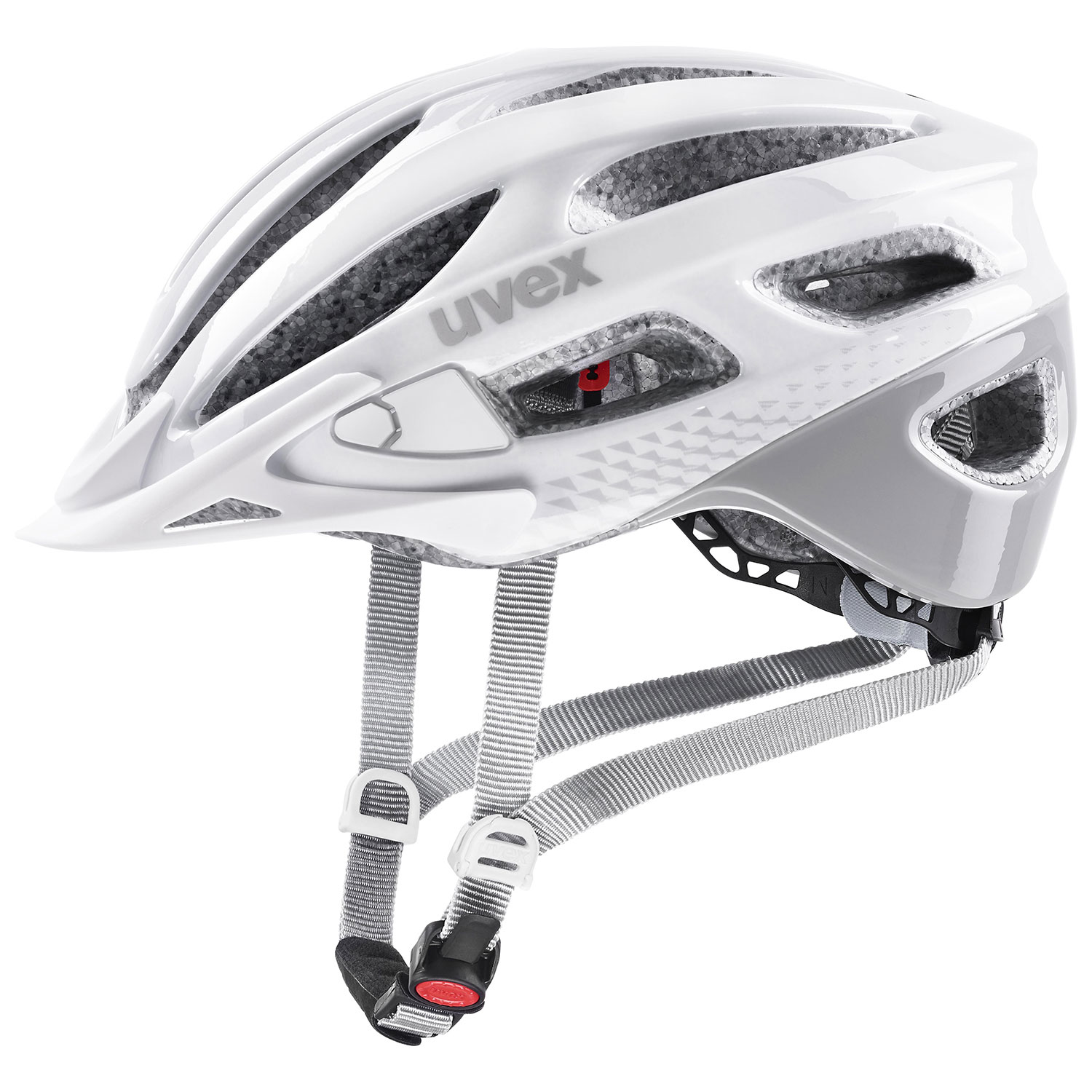2021 UVEX HELMA TRUE, WHITE - GREY 55-58