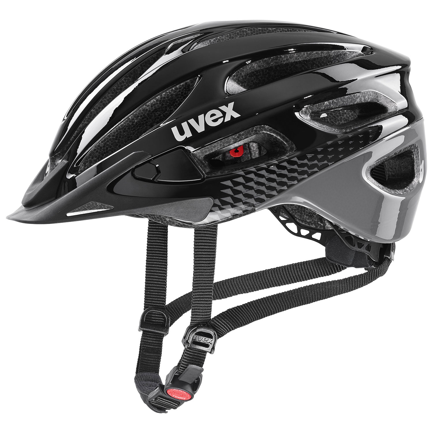 2021 UVEX HELMA TRUE, BLACK - GREY 52-55