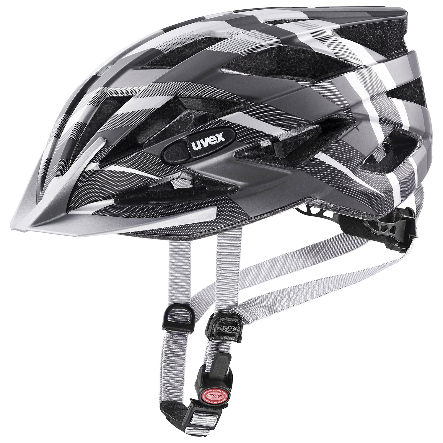 2021 UVEX HELMA AIR WING CC, BLACK - SILVER MAT 56-60