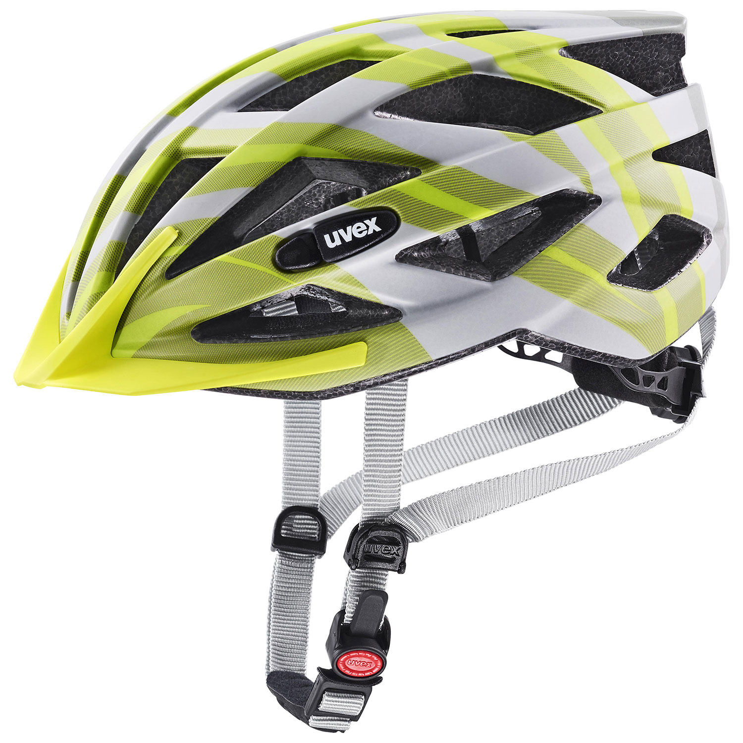 2021 UVEX HELMA AIR WING CC, GREY - LIME MAT 52-57
