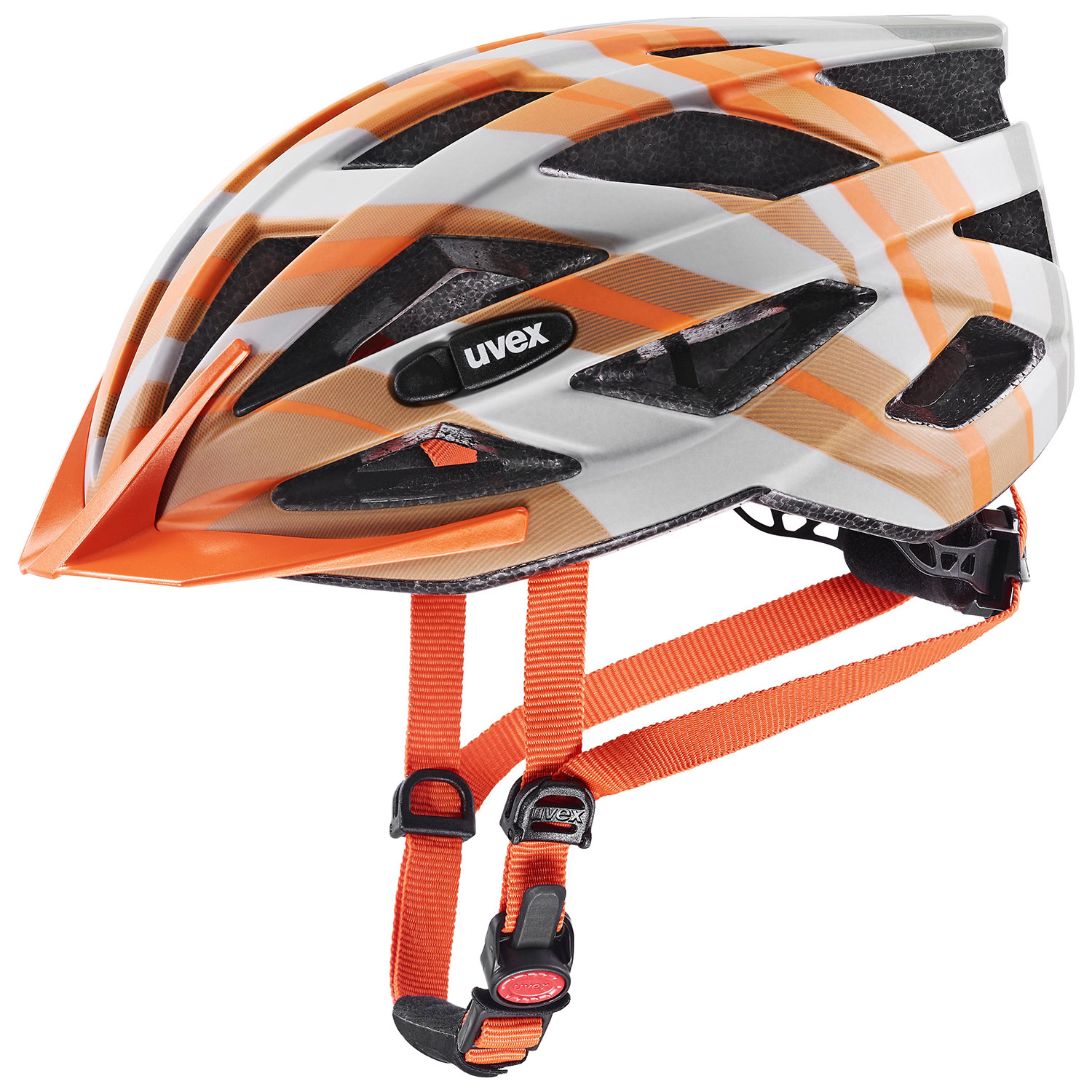 2021 UVEX HELMA AIR WING CC, GREY - ORANGE MAT 52-57