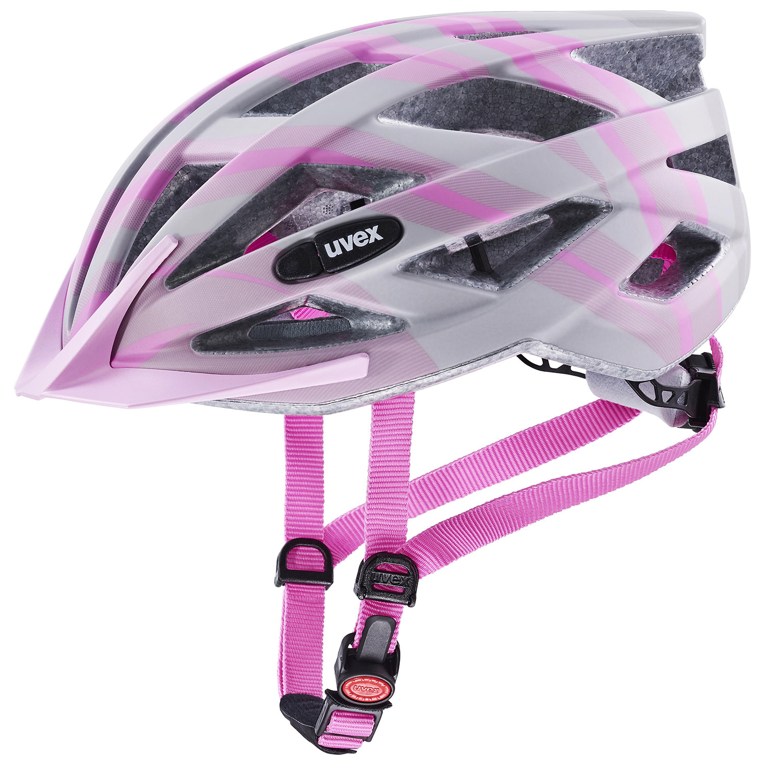 2021 UVEX HELMA AIR WING CC, GREY - ROSÉ MAT 56-60