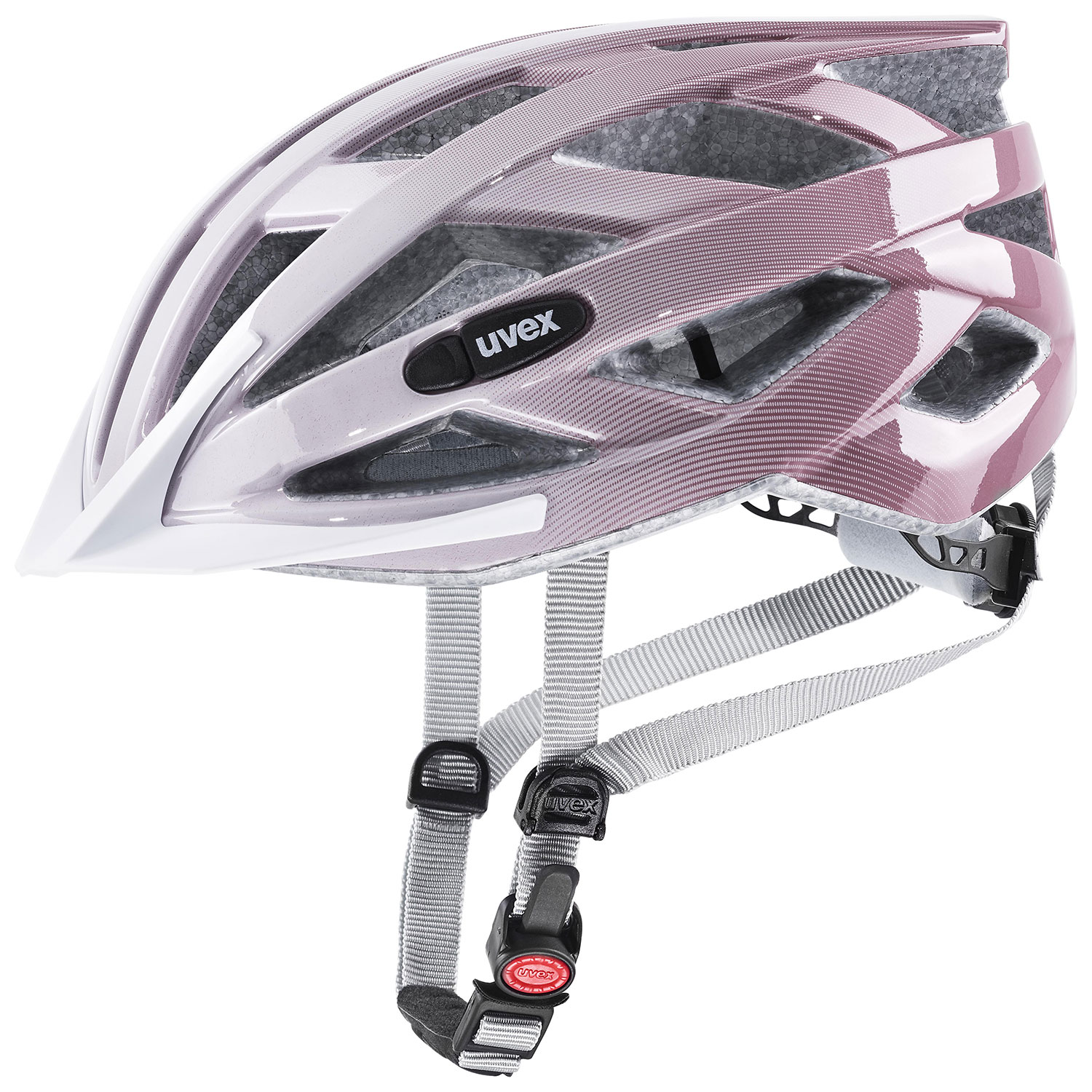 2021 UVEX HELMA AIR WING, WHITE - ROSÉ 56-60
