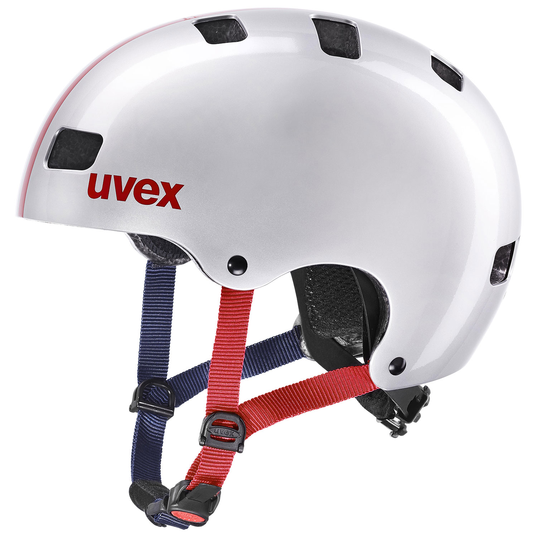 2021 UVEX HELMA KID 3, RACE SILVER 51-55